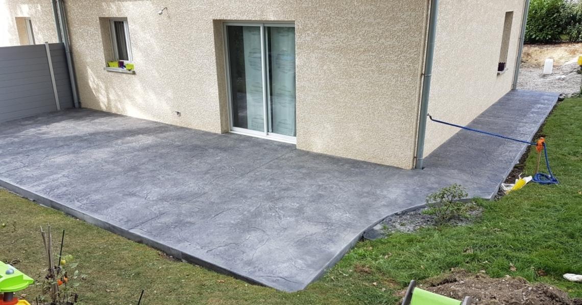 R alisations b ton d coratif n ob ton for Finition beton exterieur